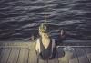 pêcheur débutant